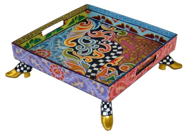 Toms Drag Tablett M 38x38cm Tom's Table Top