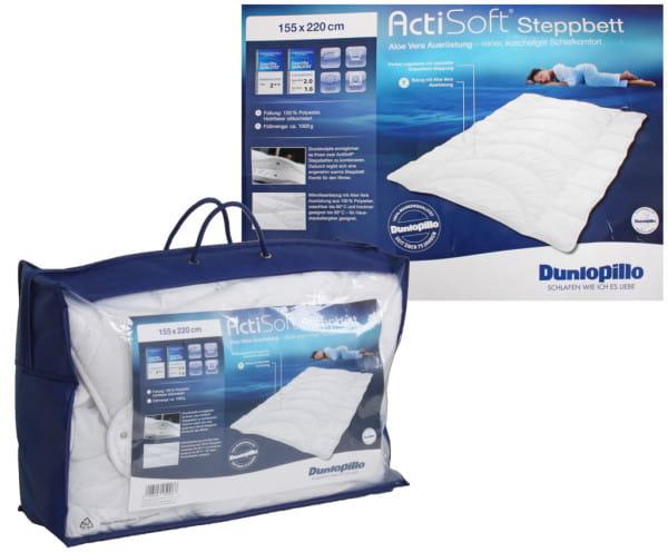 Steppbett Dunlopillo Actisoft 155x220cm