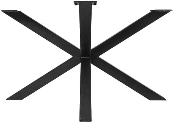 Tischgestell 3D-Modell Metall schwarz 130