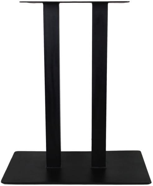 Tischgestell Bistro 2-Pillar Metall schwarz