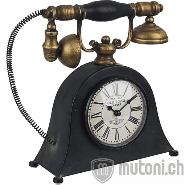 Tischuhr Charles Telefon