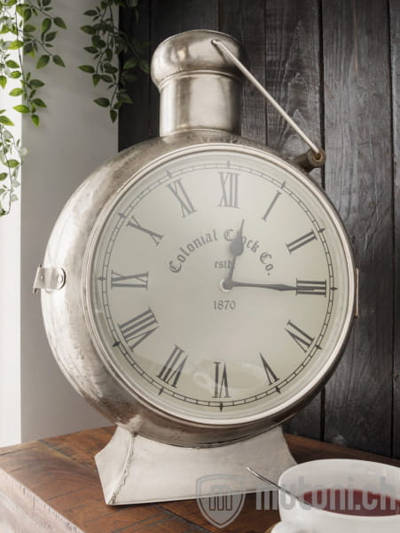 Standuhr Laterne 42x45