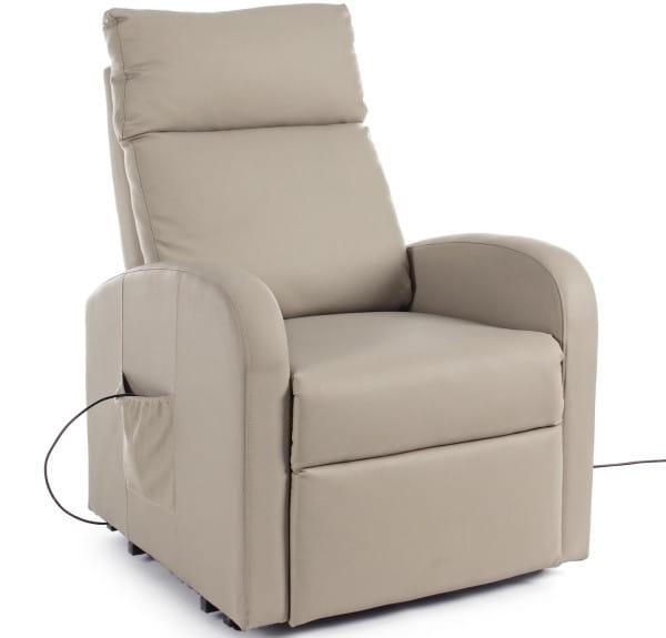 Relaxsessel Lift elektrisch (Aufstehhilfe) taubengrau