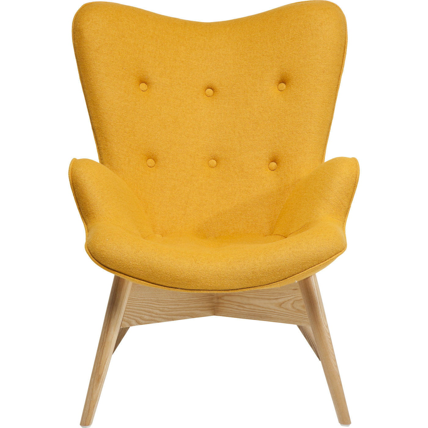 Fauteuil Relax Jaune Moutarde fauteuil angels wings jaune eco