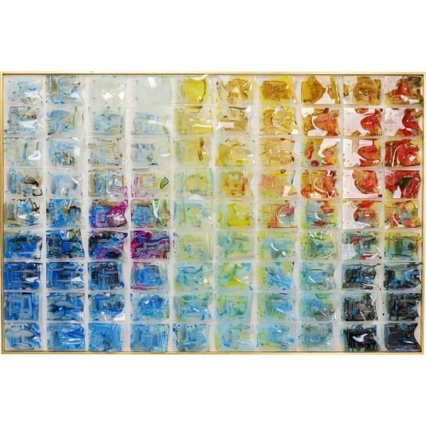 Deko Rahmen Rainbow Fields 100x150cm