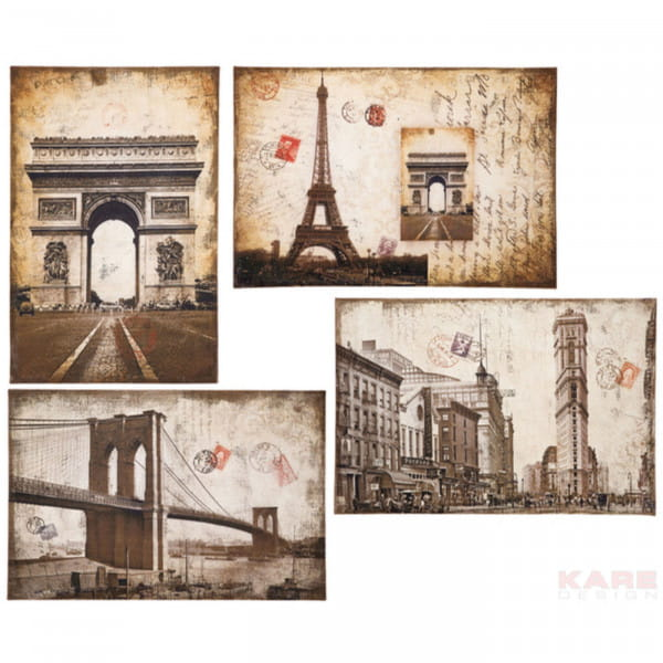 Bild City Postcards 60x90 Sortiert
