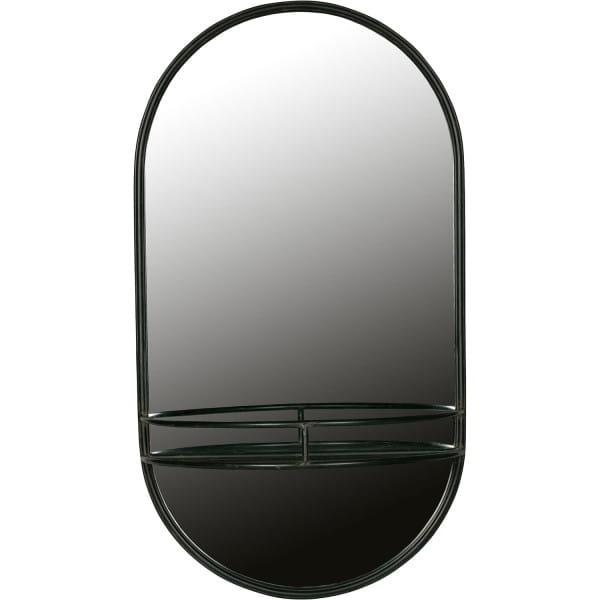 Make-up Spiegel Metall Schwarz