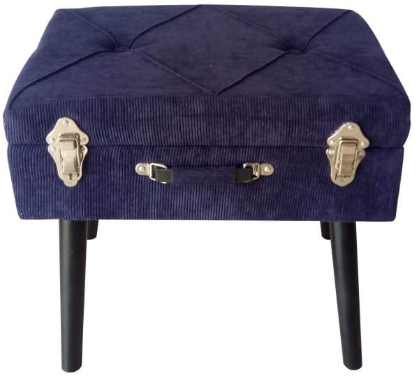 Sitzbank Cord blau
