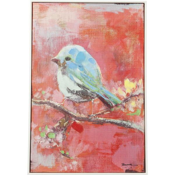 Bild Touched Bird Red Back 60x40cm