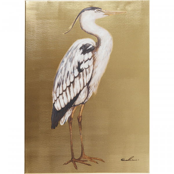 Bild Touched Heron Right 70x50cm