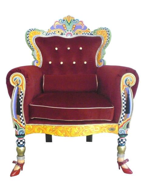 Toms Drag Sessel Thron Versailles