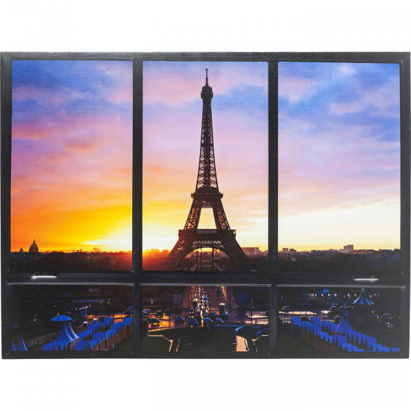 Bild Window Eiffel Tower 95x113cm