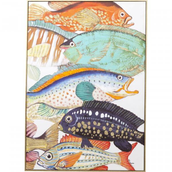 Bild Touched Fish Meeting Two 100x70cm