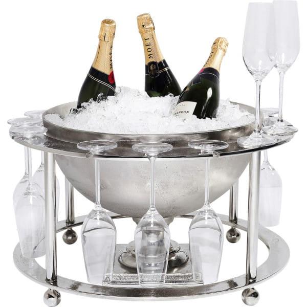 Weinkühler Champagne Time (2-tlg)