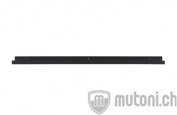Wandboard Schwarz 120cm