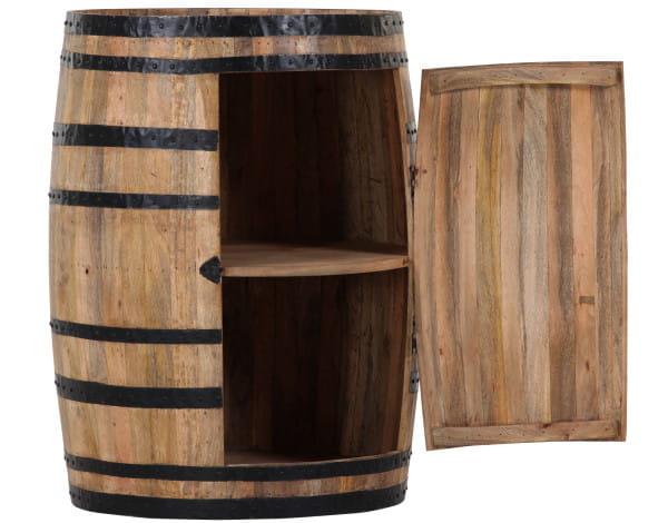 Bartisch Barschrank Barrel Fass Loft Wood